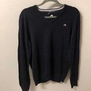 J. Lindbergh 100% Wool Navy Sweater